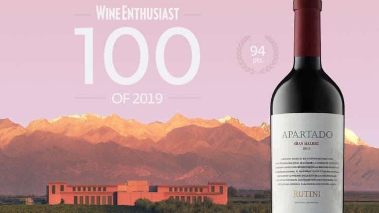 Apartado Gran Malbec entre los 100 mejores vinos del mundo
